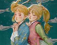 Twin Gannets