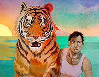 Mock Cover for 'Life of Pi' by Yann Martel