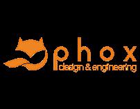 Identity package del brand Phox Design
