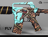 M4A1-S NEVER FLY