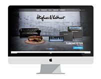 Hughes & Kettner Website