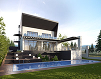 Effective House Design Architectural Rendering