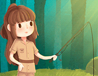 Lina the Brave Adventurer - Children's Book