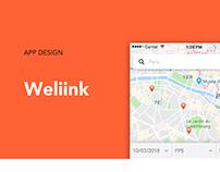 Weliink - App mobile