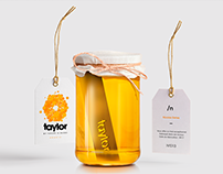 Taylor - Identité & Packaging