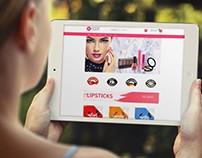 Moda Cosmetics Web Design