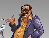 Gambler- Character Design