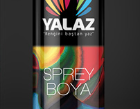 Sprey boya ambalaj tasarımı Spray paint package design