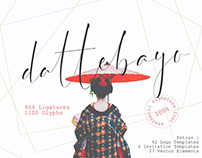Dattebayo – Free Signature Font