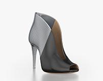 Gianvito Rossi Photorealistic CGI Shoes