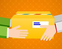 Sending a parcel by courier? - Explainer video