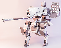 [WIP] HengZ Mecha 06 and my 3D consept from 2D sketch