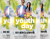 Youth Day - Club A5 Template