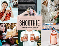 Free Smoothie Mobile & Desktop Lightroom Presets