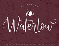 Waterlow Handwritten Font