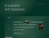 Exclusive loft furniture