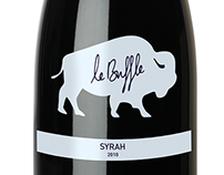 Wine Label Design - Le Buffle