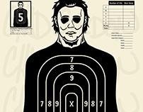 Custom Michael Myers Range Target