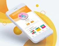 """Mobile App """"TeachMe"""" (UX/UI design)"""