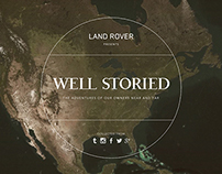Land Rover: Well Storied
