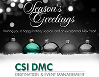 CSI Happy Holidays HTML Email Blasts (5 Versions)
