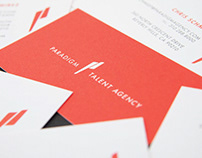 Paradigm Talent Agency Branding