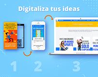 Digitaliza tus ideas / Crossmedia + Storytelling
