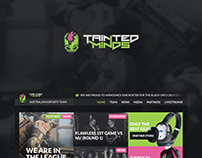 Tainted minds - Web Design