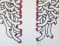 Wall Painting ANKAPital HAYP POP UP GALLERY