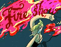FIRESHOW comic book