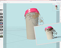 Splash of morning coffee with Adobe Project Felix