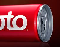 MOTO ENERGY DRINK - CGI