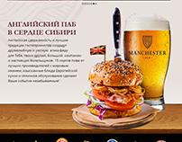 Website Manchester Pub