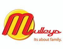 Mulley's Supermarket Rebranding