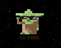 8-BIT Star Wars-themed Illustration & Animation