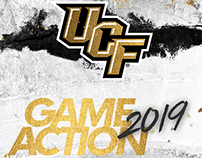 UCF Football Game Actions 2019