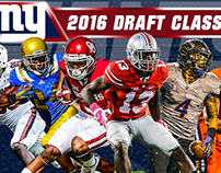 NY Giants 2016 Draft Graphics