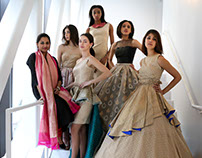 Fusion Fashion show- The Royal Ecru