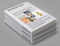 MODERN ART BOOK