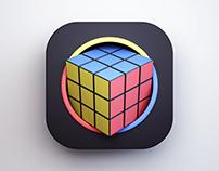 Rubik's Cube Icon