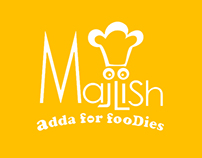 Majlish Restaurant App ans logo design