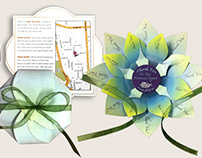 3D Invitation and Thank You Card Designs
