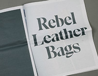Milökka. Rebel Leather Bags Magazine