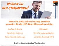 Flyer Design for Online-Shop