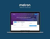 Metron Website Casestudy