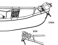 NOLS River Rescue Illustrations