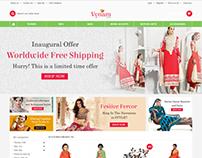 Vynam E-commerce Website Design