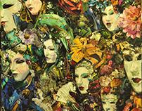 Collage La Maschera piu bella