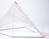 Metal Weaving Sculpture