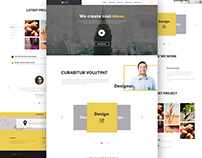 Create Agency Web Template